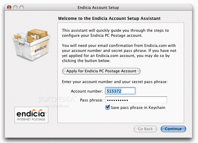 Endicia Mac 2 19 4 - Download