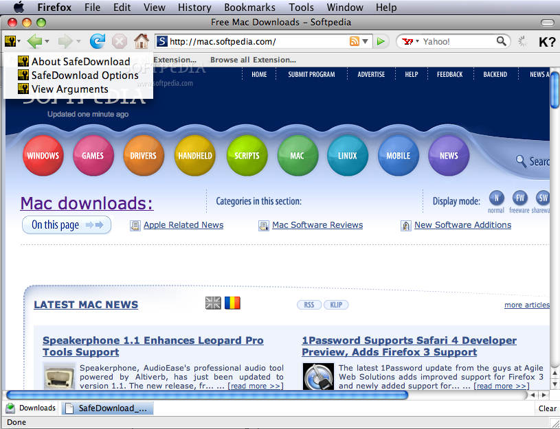 SafeDownload screenshot 1