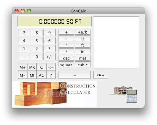 Construction calculator software free download ftfreemix for Building cost calculator free