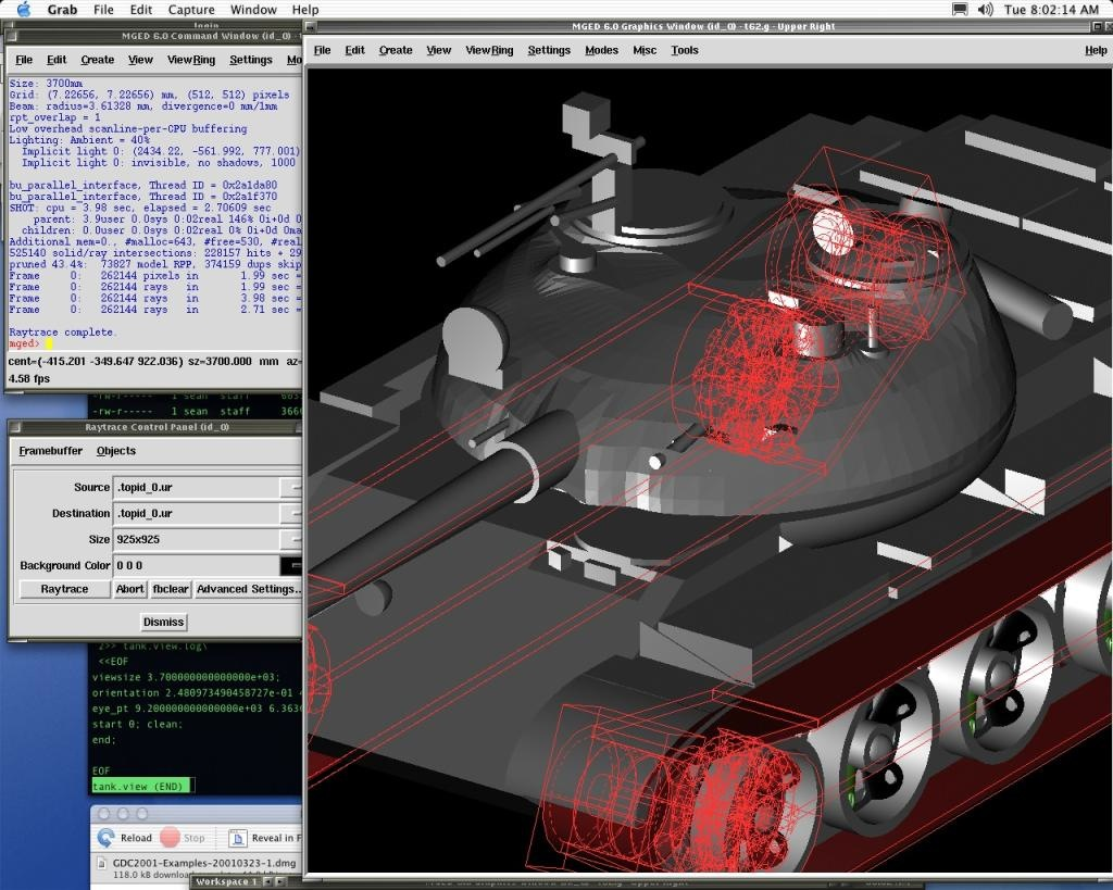 BRL-CAD screenshot 3