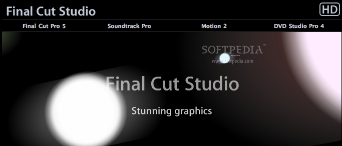 Apple Final Cut Studio screenshot 1