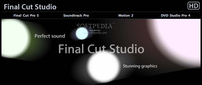 Apple Final Cut Studio screenshot 2