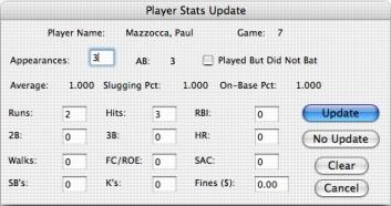 Softball team calculator for macbook pro