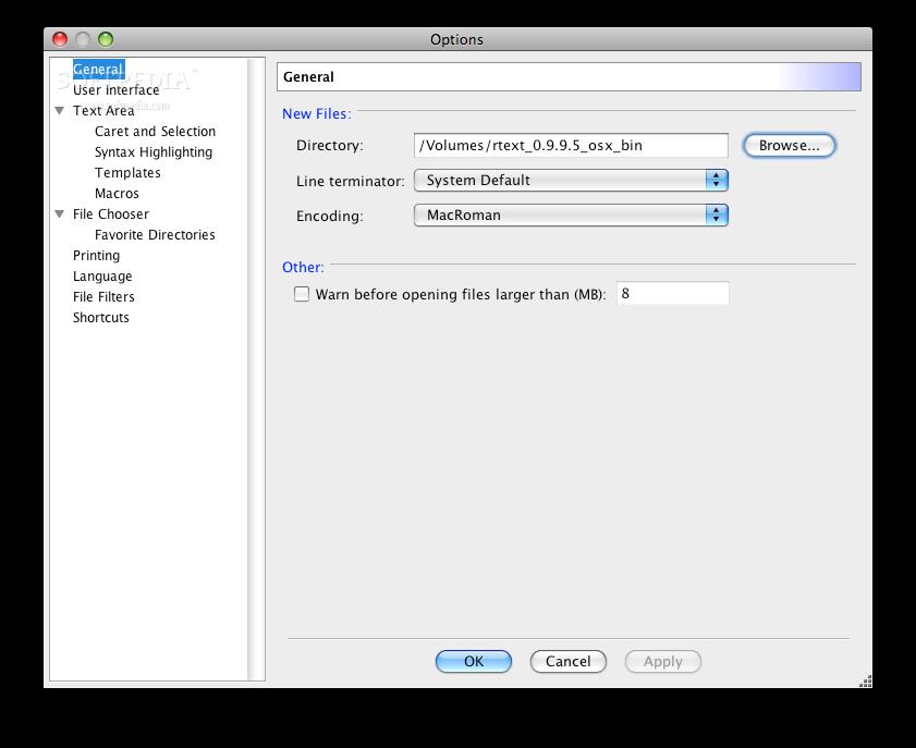 Download RText Mac 2 6 2