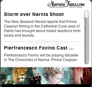 Narnia Fans Widget screenshot 1