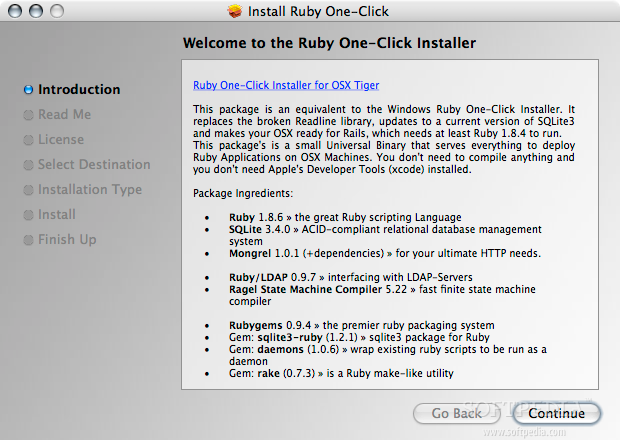 Ruby One Click Installer Download Mac