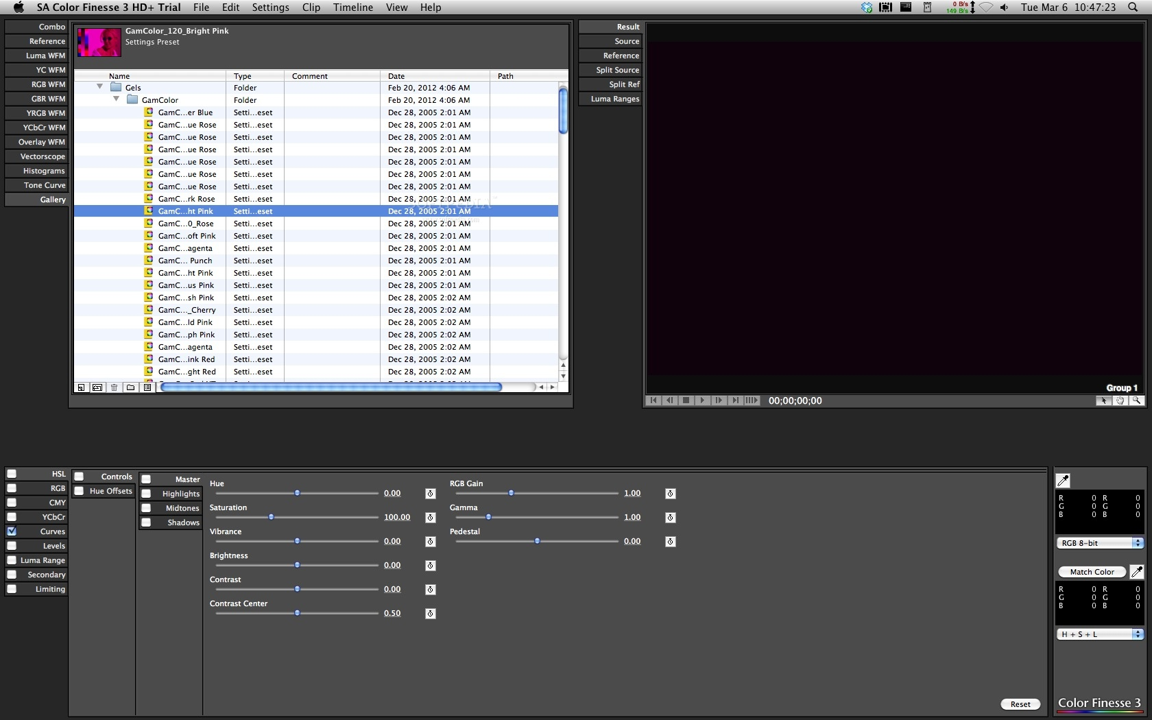 how to do 4 way colour correction final cut pro