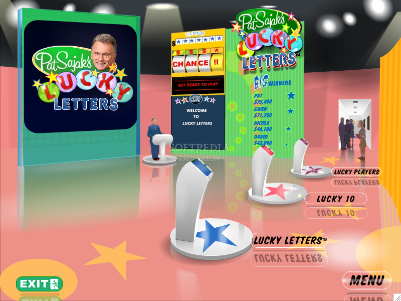 Pat Sajack's Lucky Letters screenshot 1