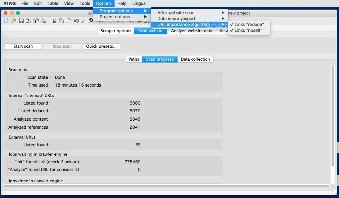 A1 Website Scraper Mac 10 0 0 - Download