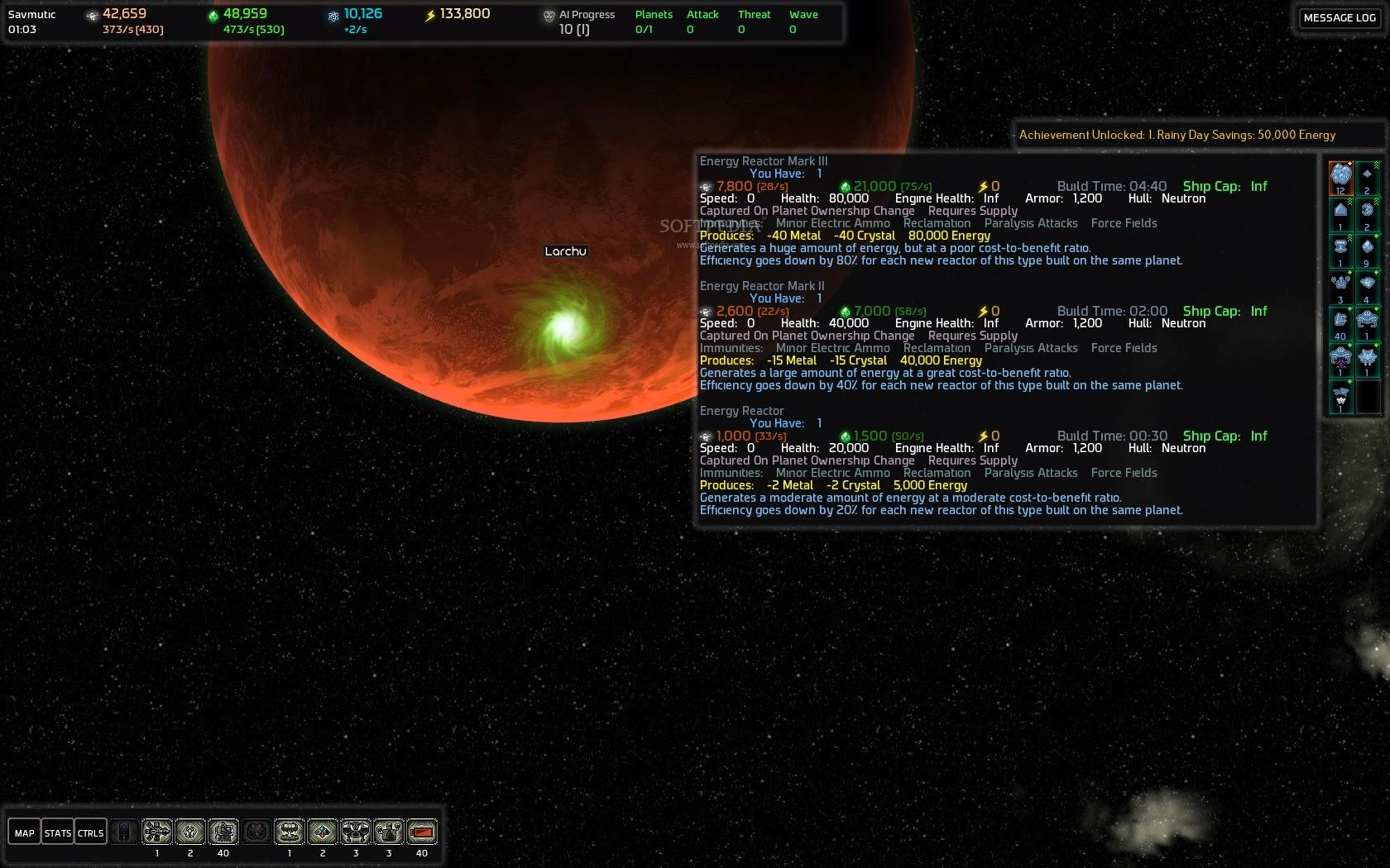 AI War: Fleet Command screenshot 3