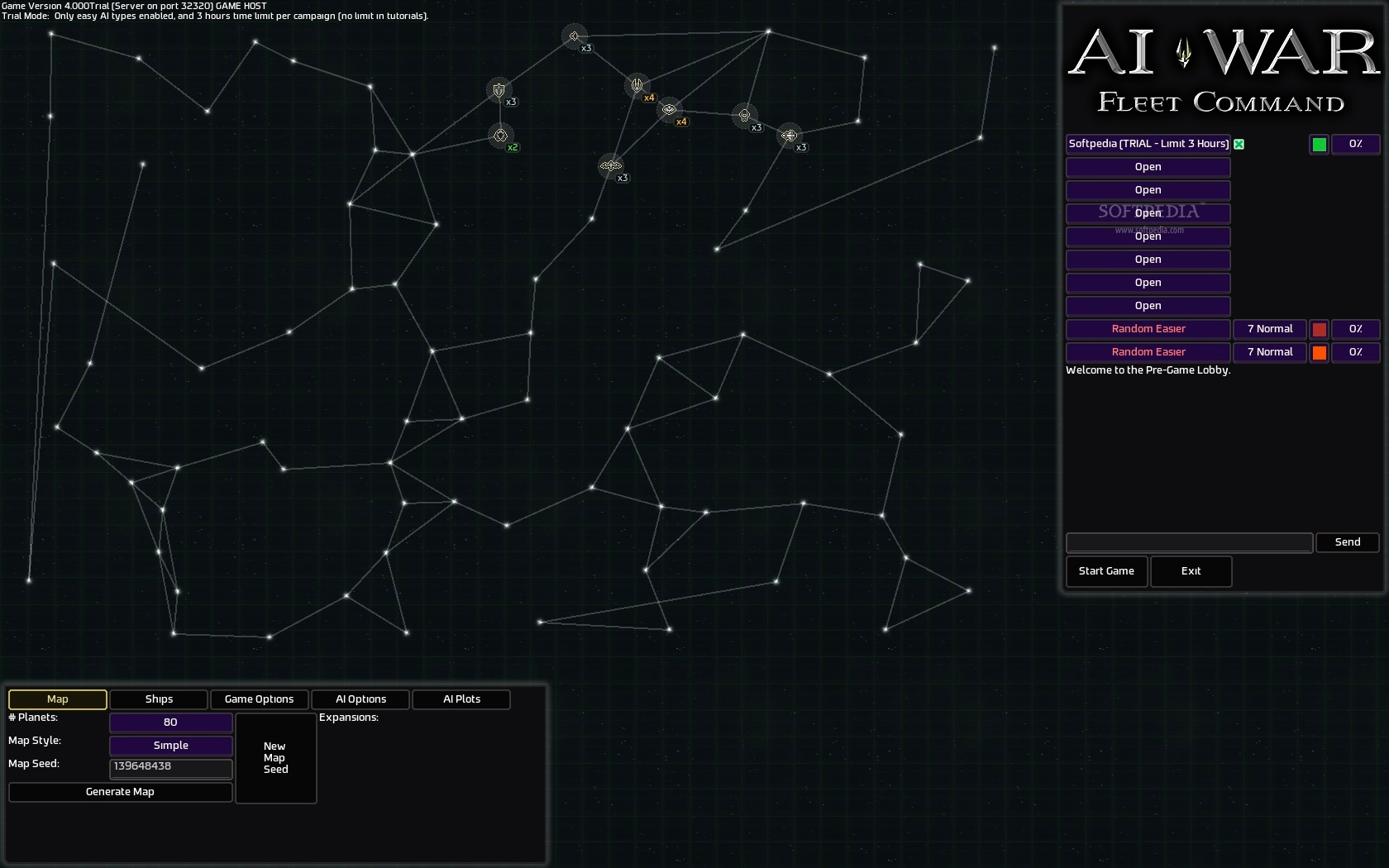AI War: Fleet Command screenshot 8 - Exploring the universe.
