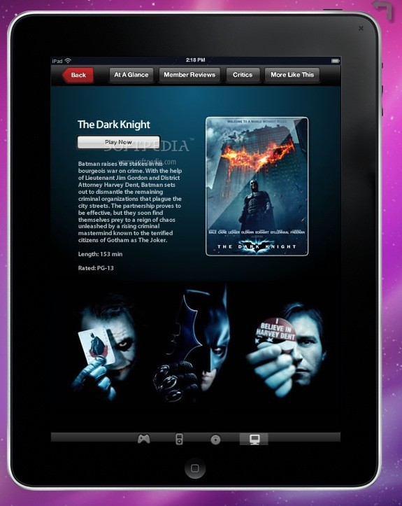AIR iPad screenshot 2 - Trying to view some movies.