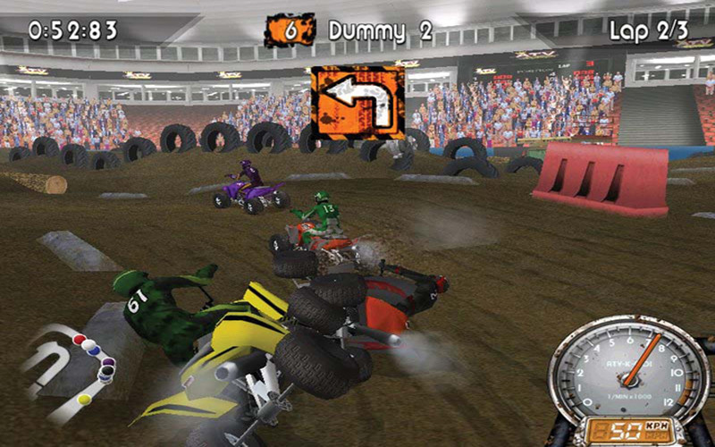 ATV Quad Kings screenshot 3 - The game comes with a physics engine that supports collisions and jumps, amongst others.