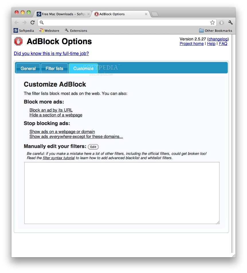 AdBlock screenshot 3