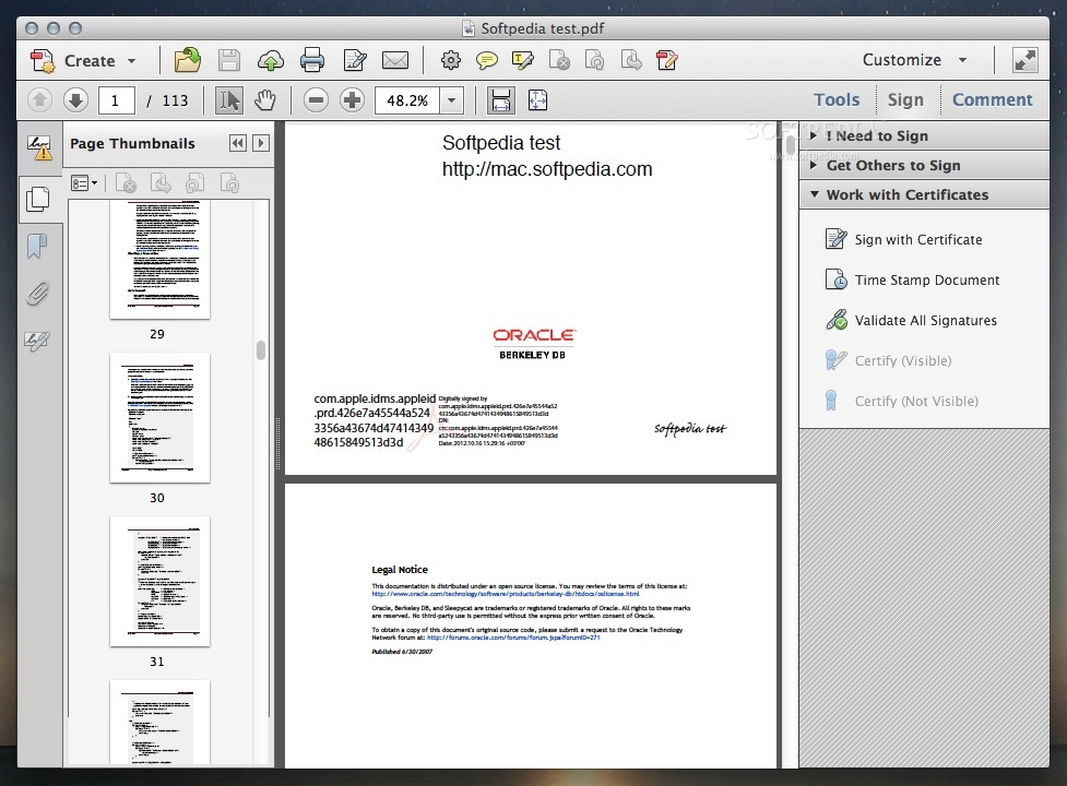 Adobe Acrobat Pro Mac DC 2019 012 20034 - Download