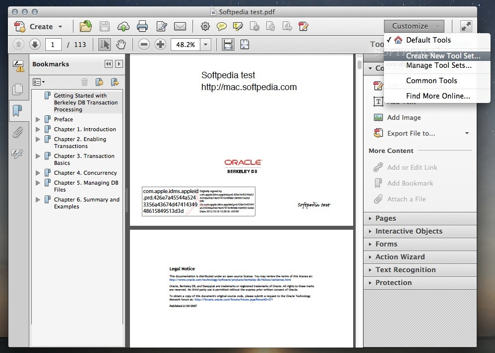 manual for adobe acrobat x pro