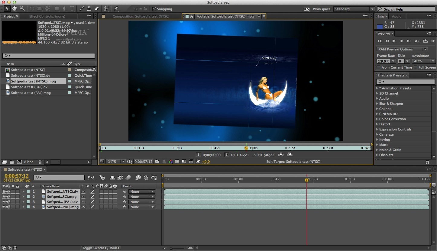 Adobe After Effects Mac CC 2019 16 1 2 - Download