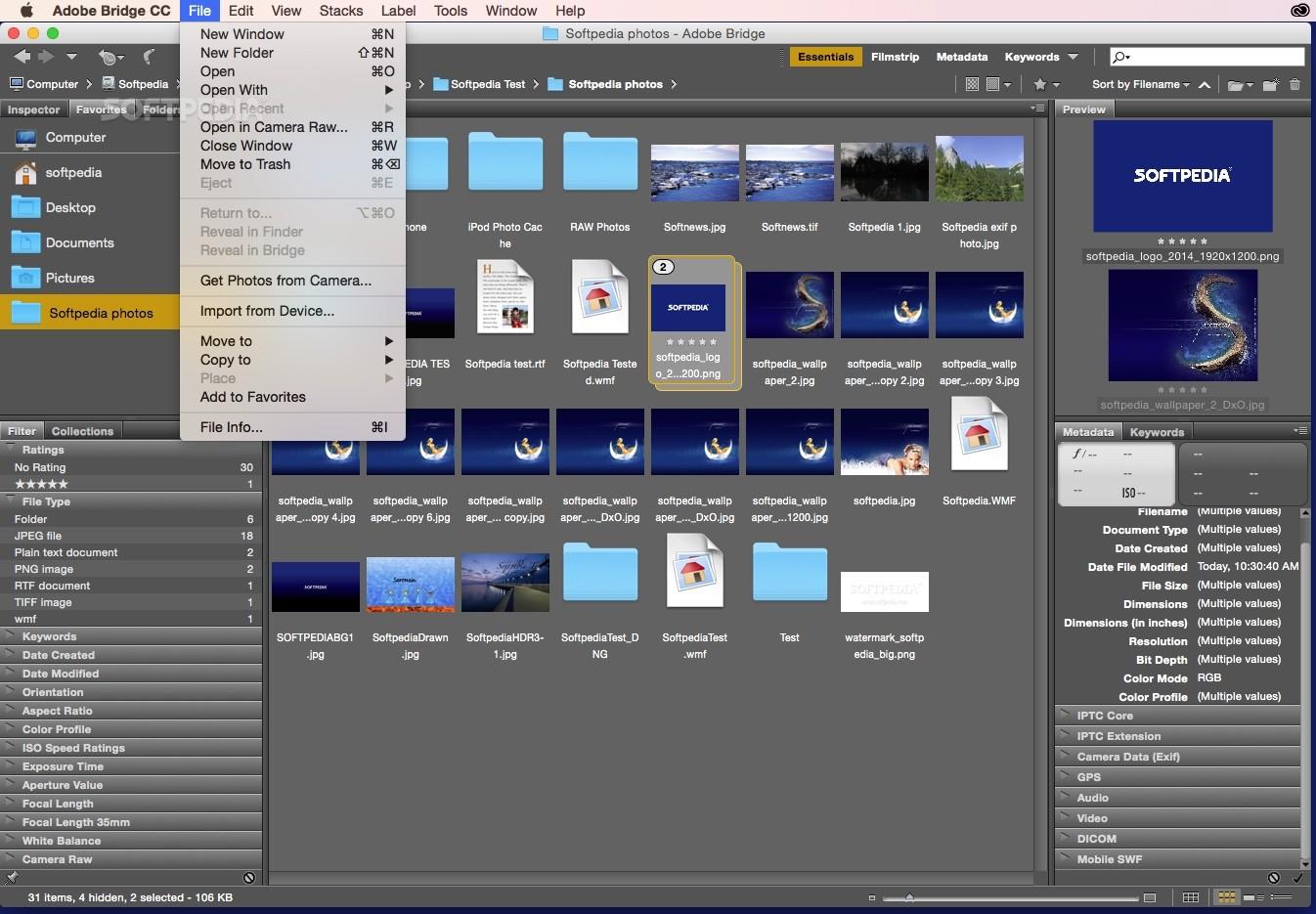 how to use adobe bridge on mac