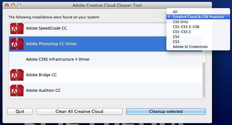 completely remove adobe creative cloud mac