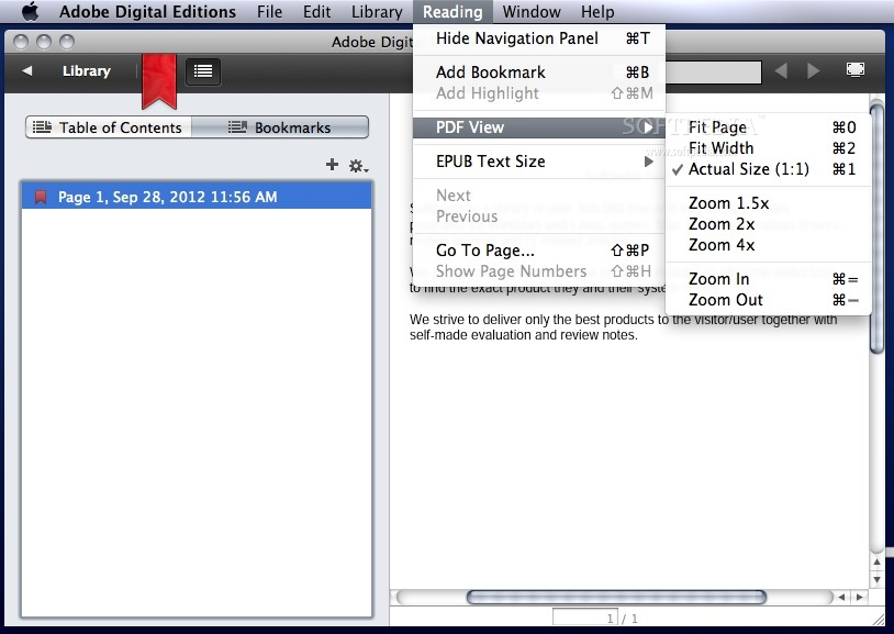 Adobe Digital Editions screenshot 5