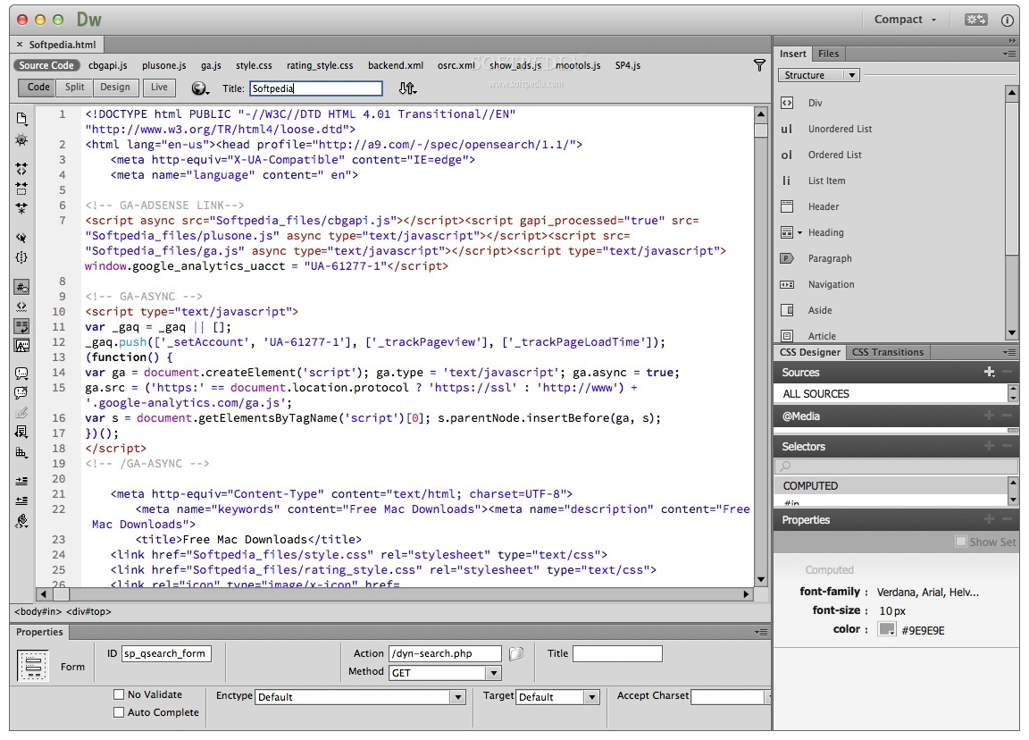 adobe dreamweaver cc 2017 for mac free download