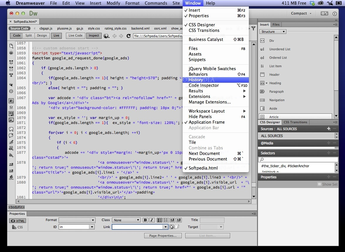 Adobe Dreamweaver Mac Download