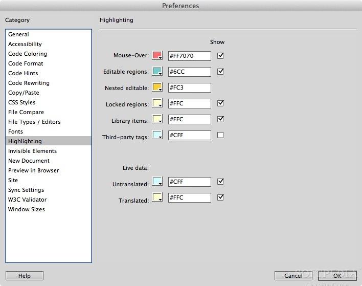 Adobe Dreamweaver Mac CC 19 2 1 - Download