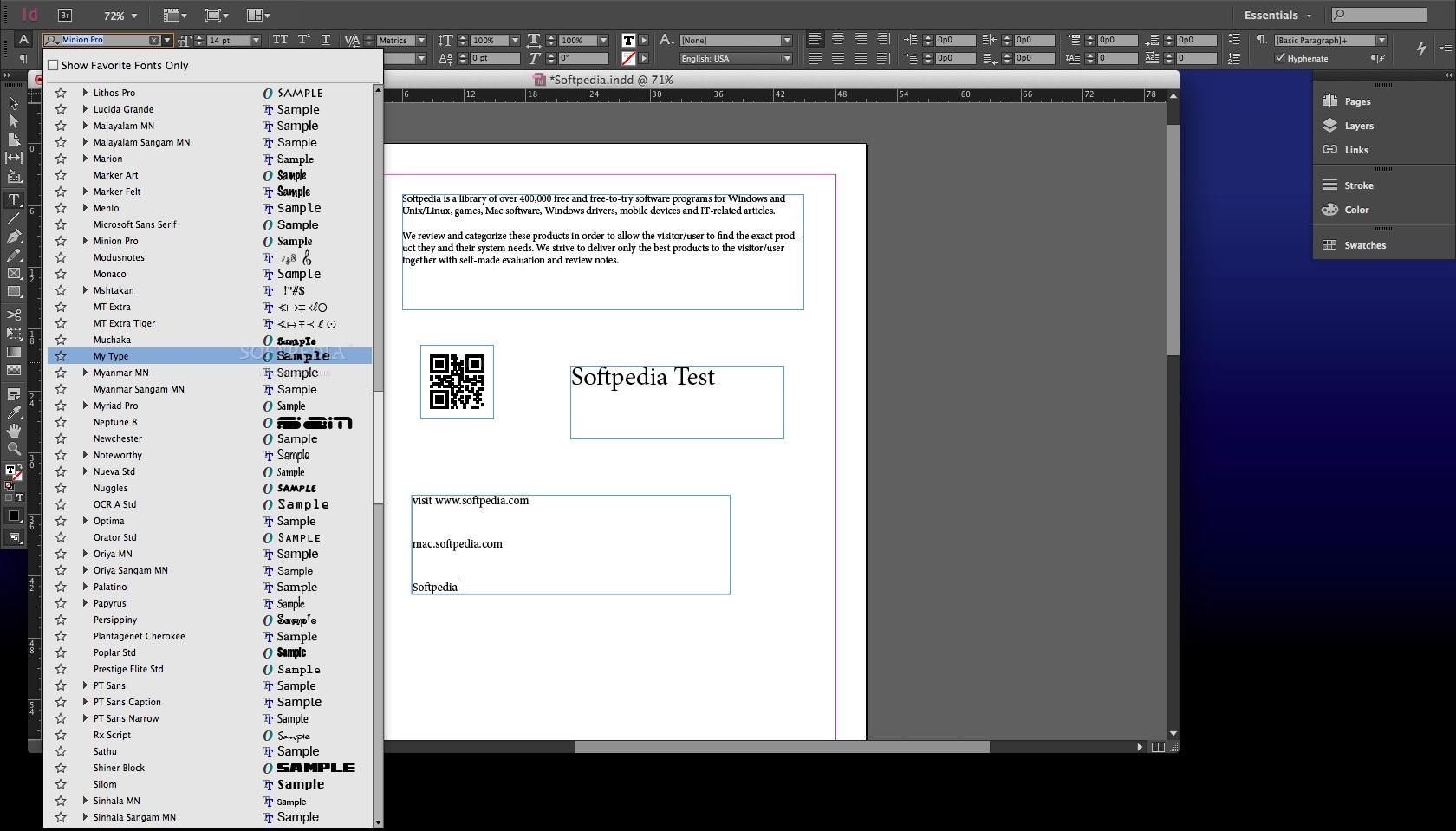 Adobe InDesign Mac CC 2018 14 0 - Download