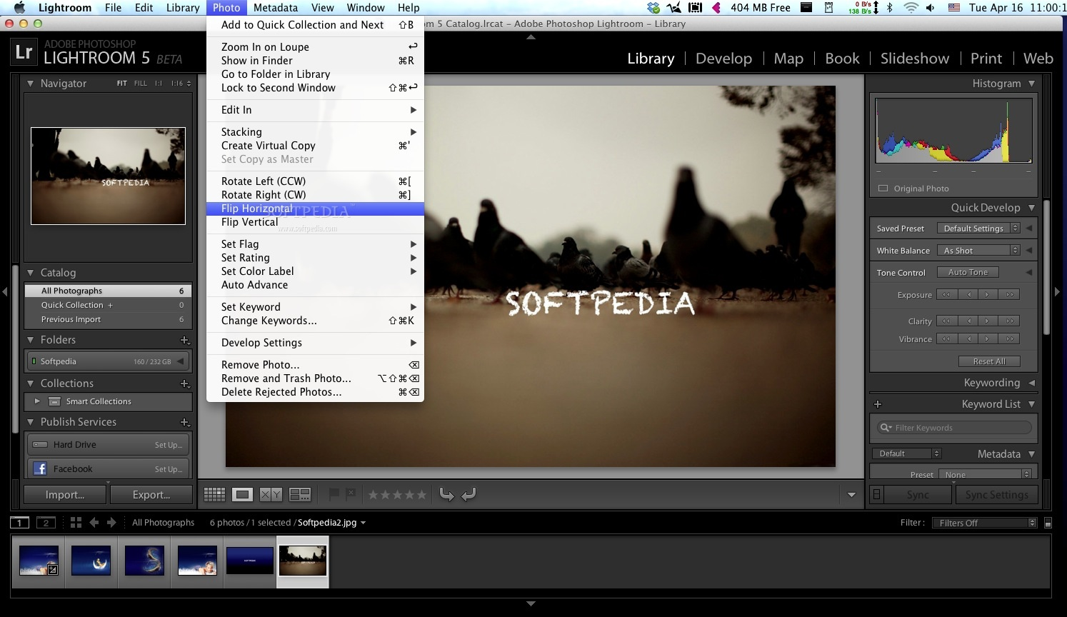 Adobe Lightroom screenshot 16