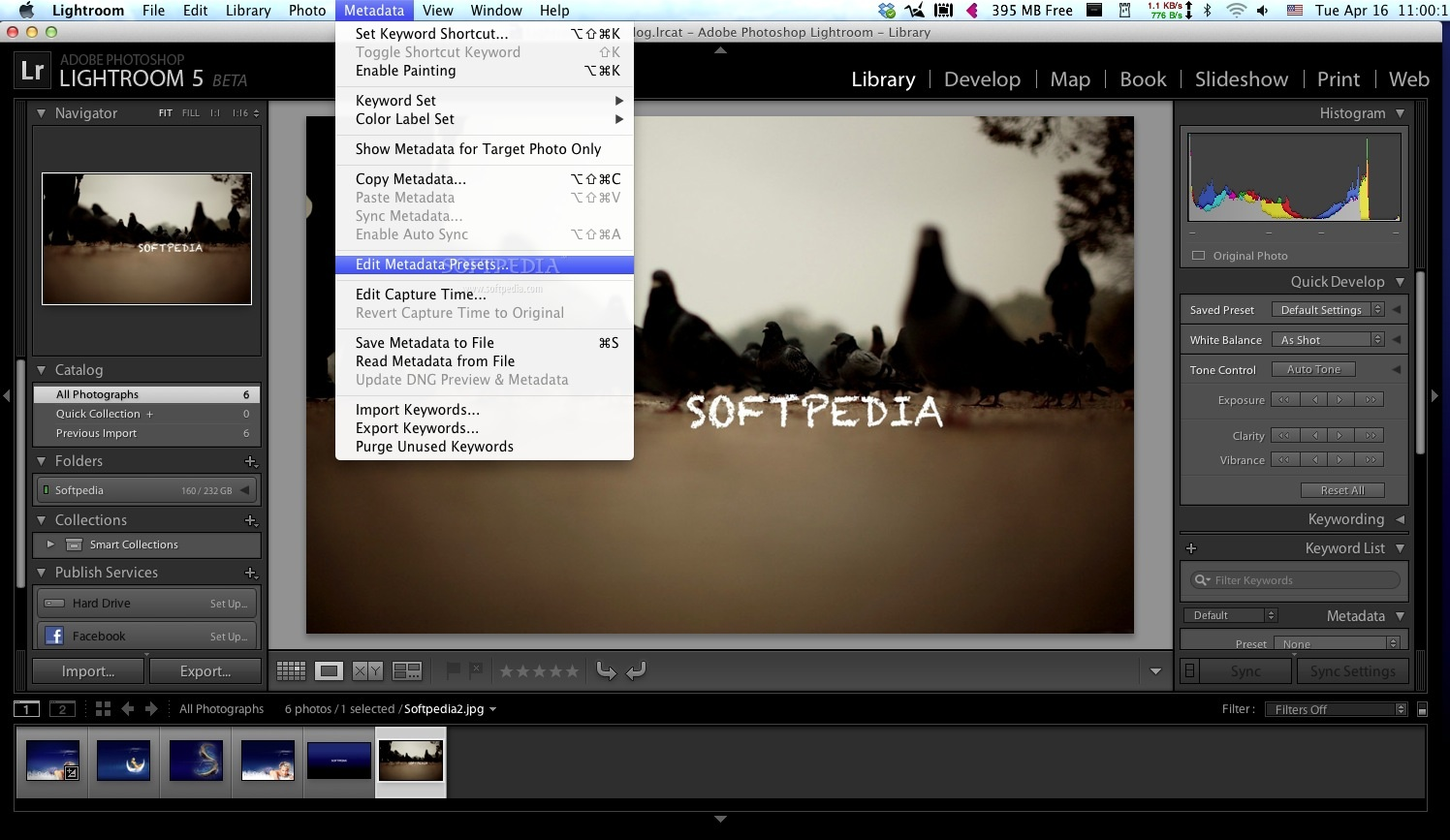 Adobe Lightroom screenshot 17