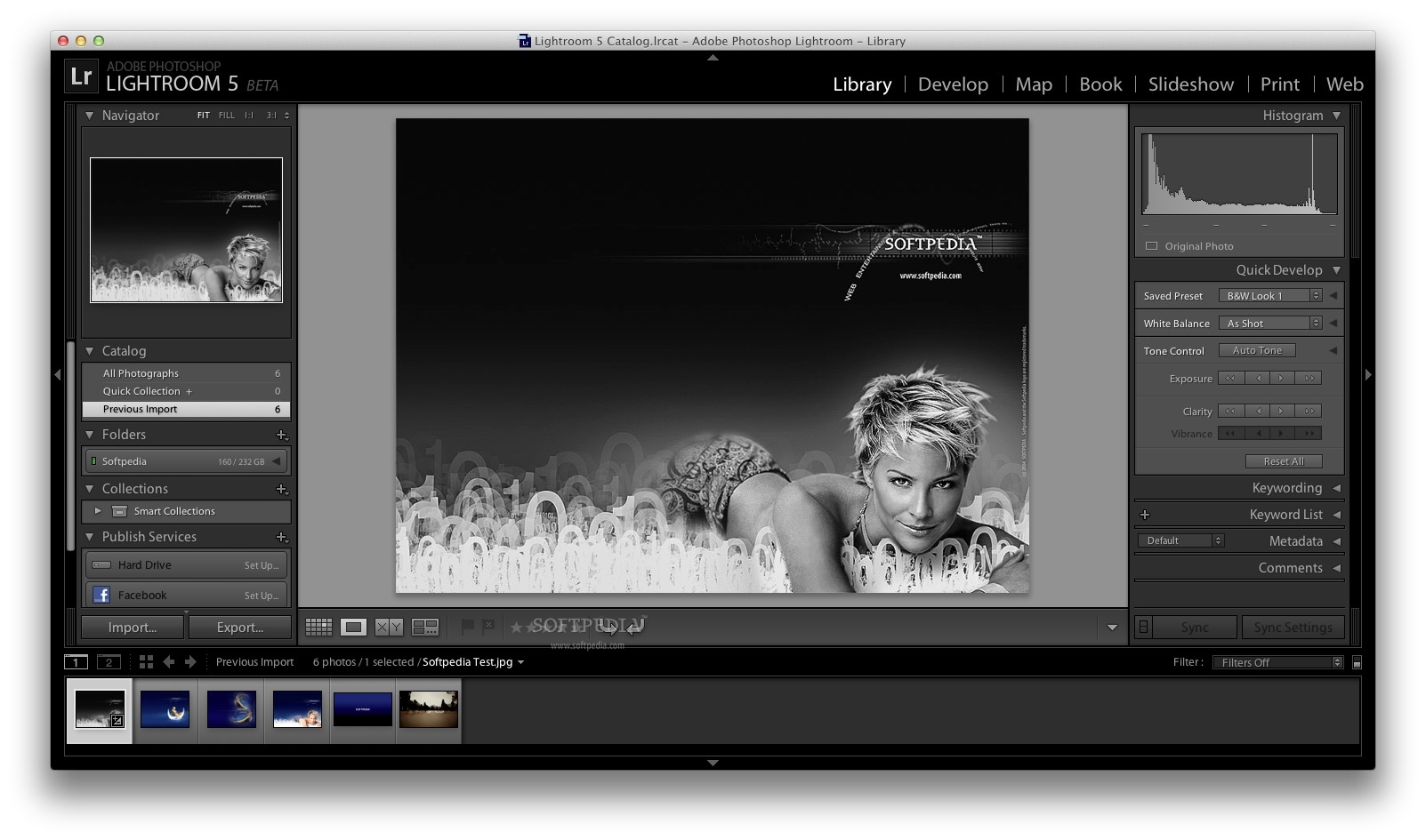 Adobe Lightroom screenshot 4