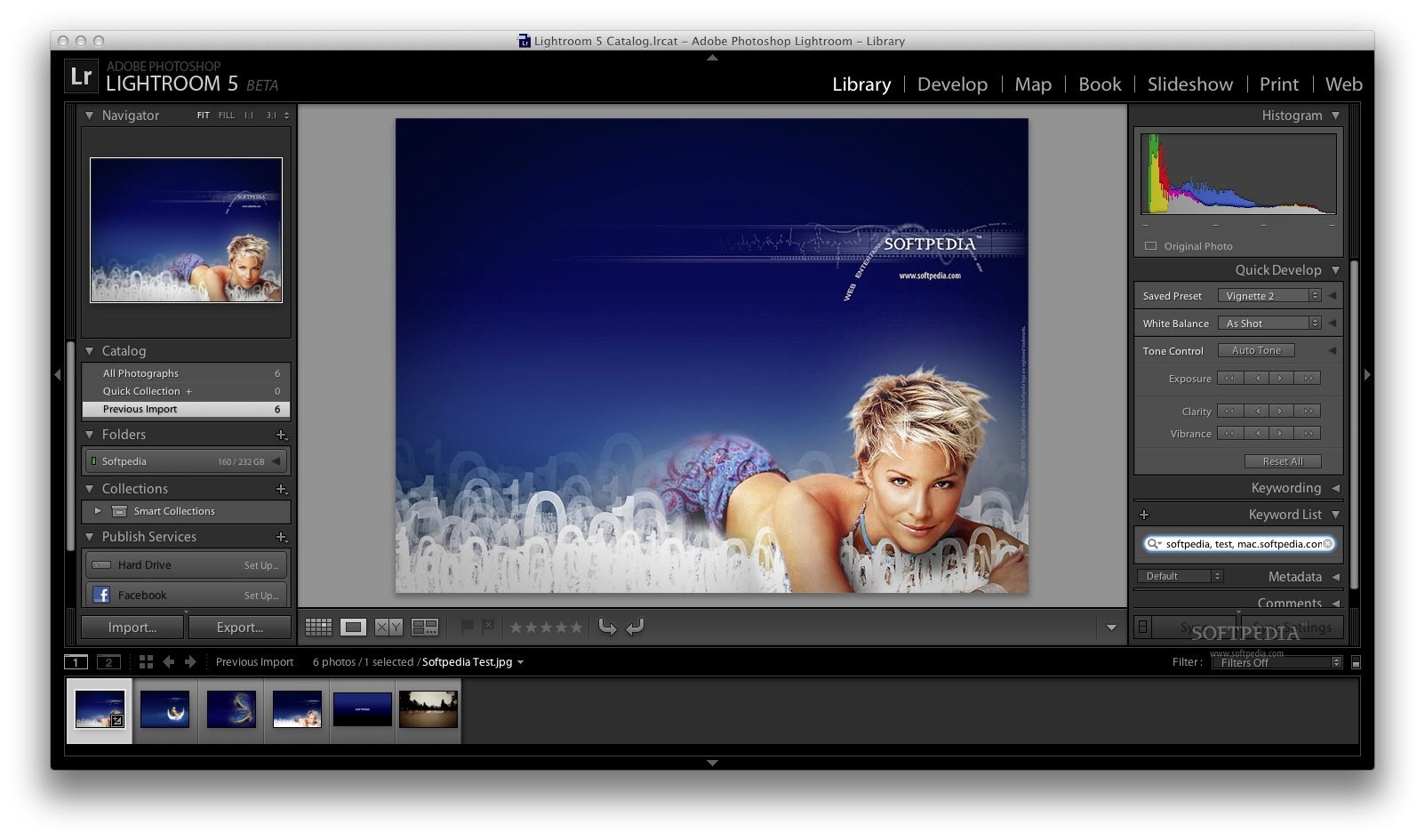 Adobe Lightroom screenshot 5