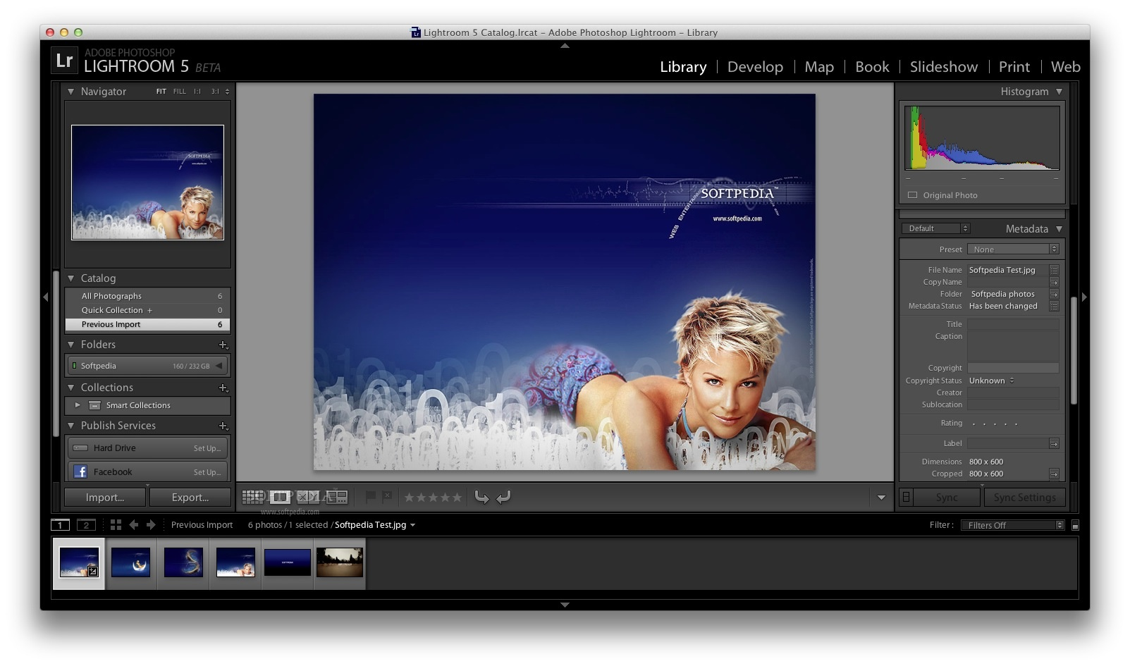 Adobe Lightroom screenshot 6