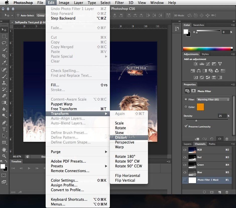 Here is the Photoshop CS6 Extended Trial Download Link