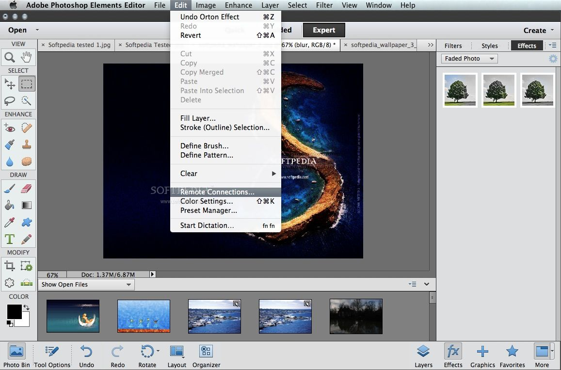 adobe photoshop elements 11 editor for mac free download