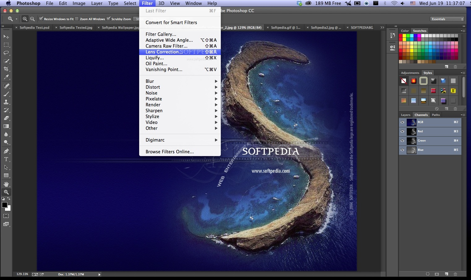 Adobe Photoshop screenshot 10