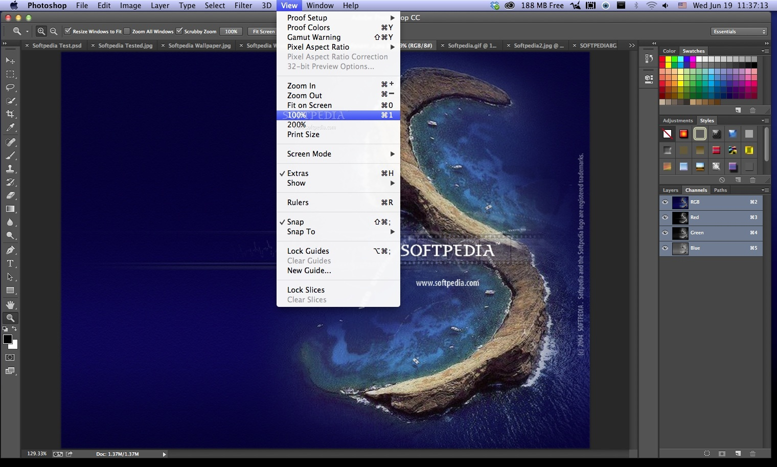 Adobe Photoshop screenshot 11
