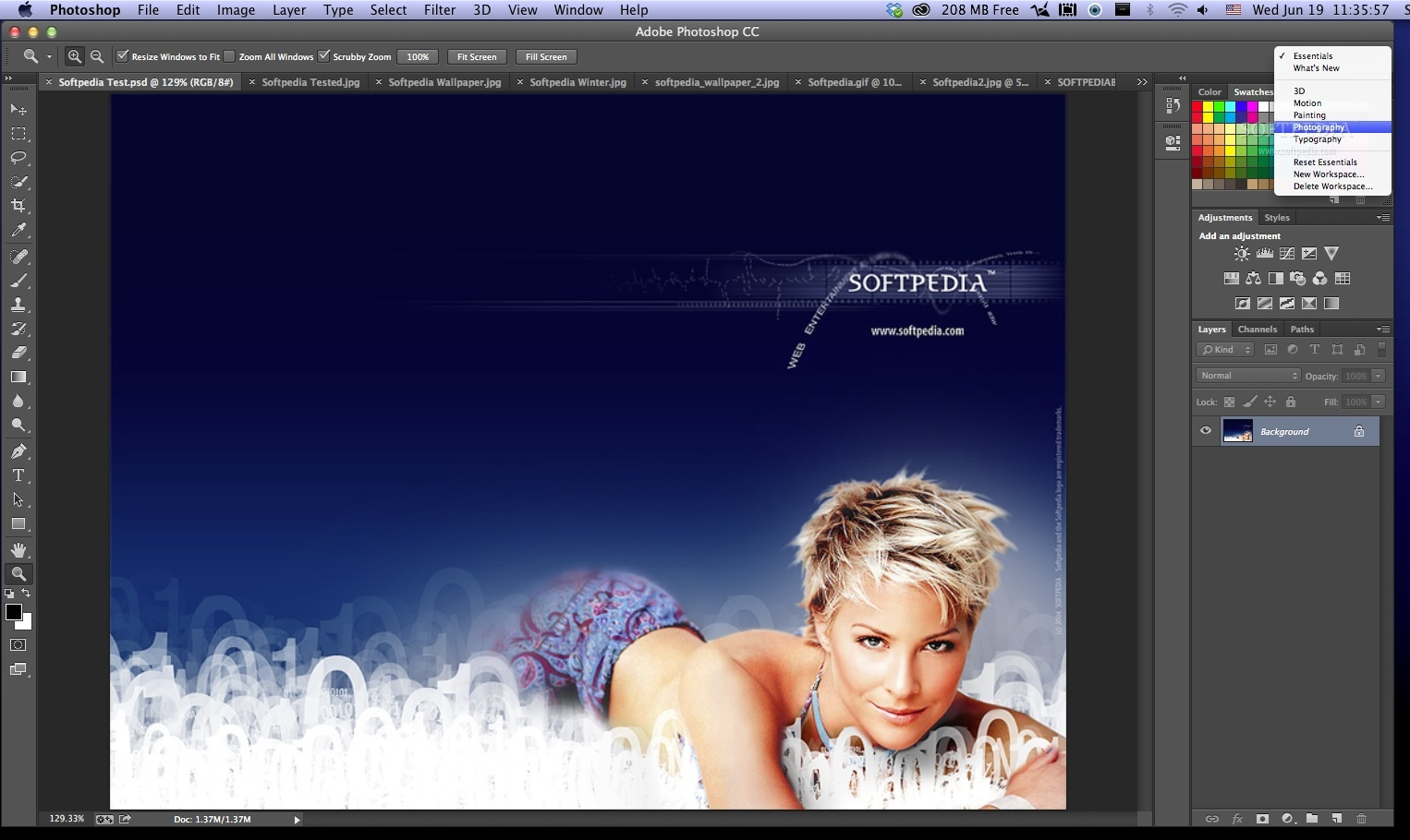 Adobe Photoshop screenshot 2