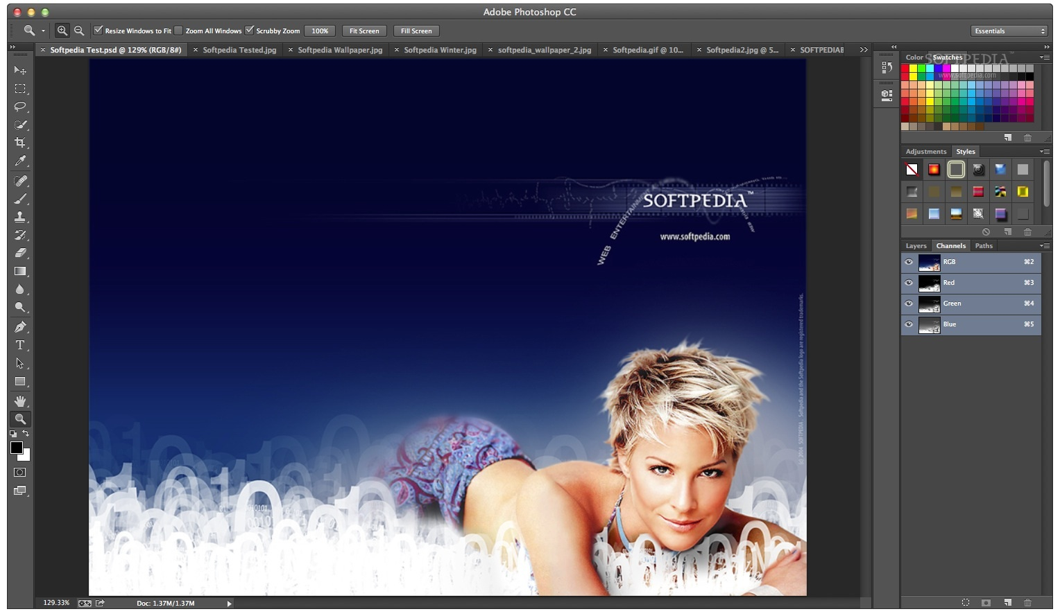 Adobe Photoshop screenshot 3
