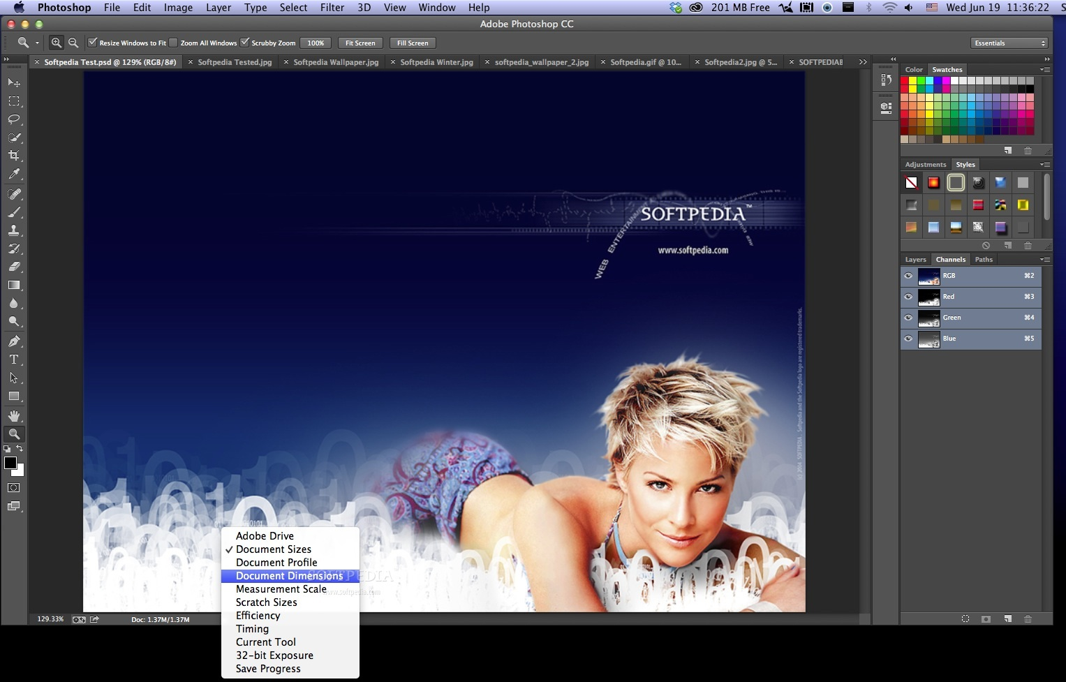 Adobe Photoshop screenshot 4