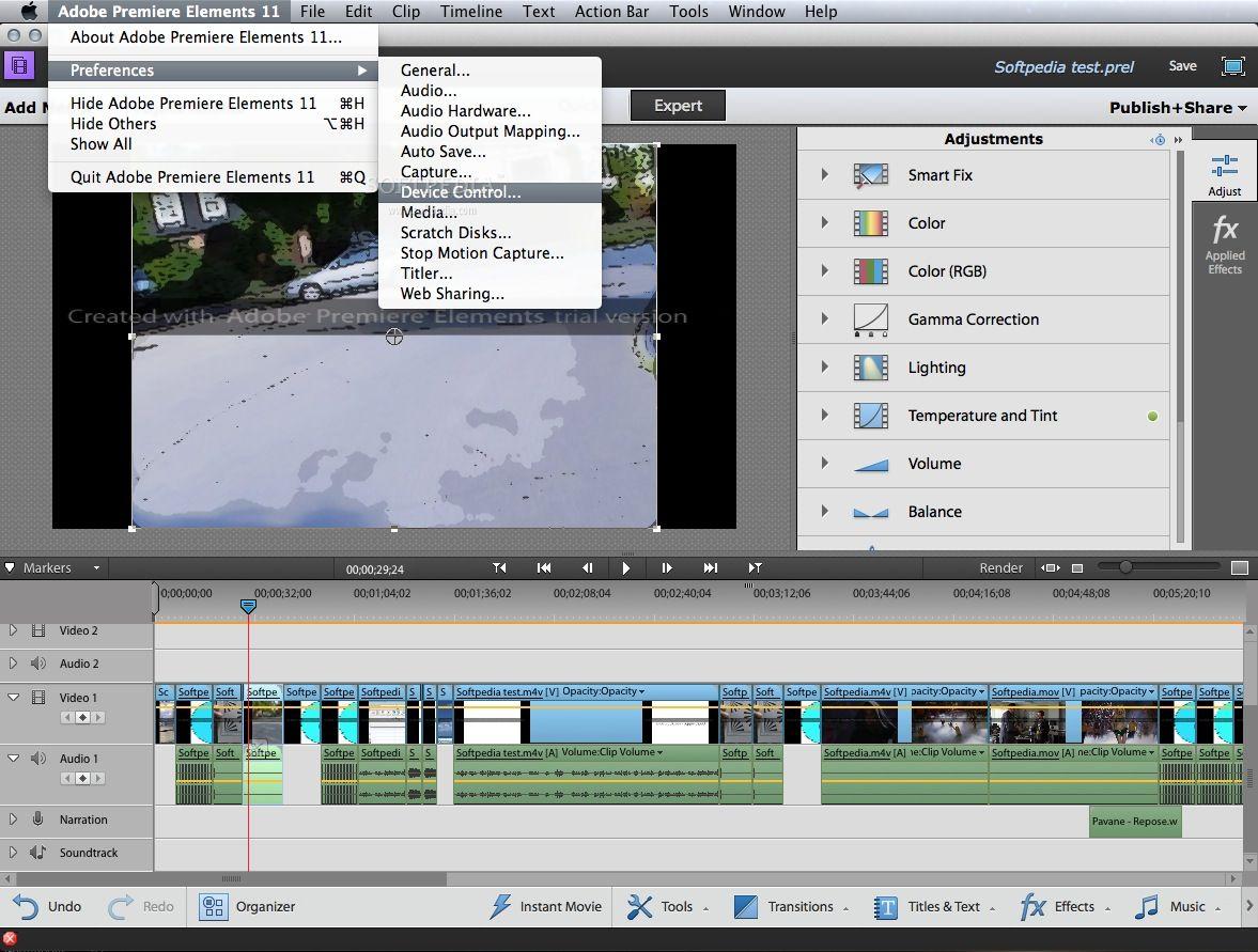 adobe premiere elements free trial for mac