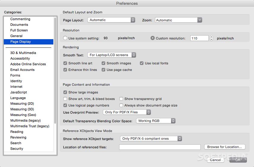 Adobe reader 9 mac os x download