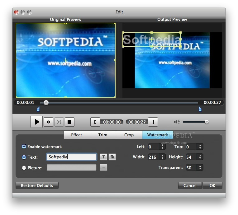 Aiseesoft PSP Video Converter screenshot 7