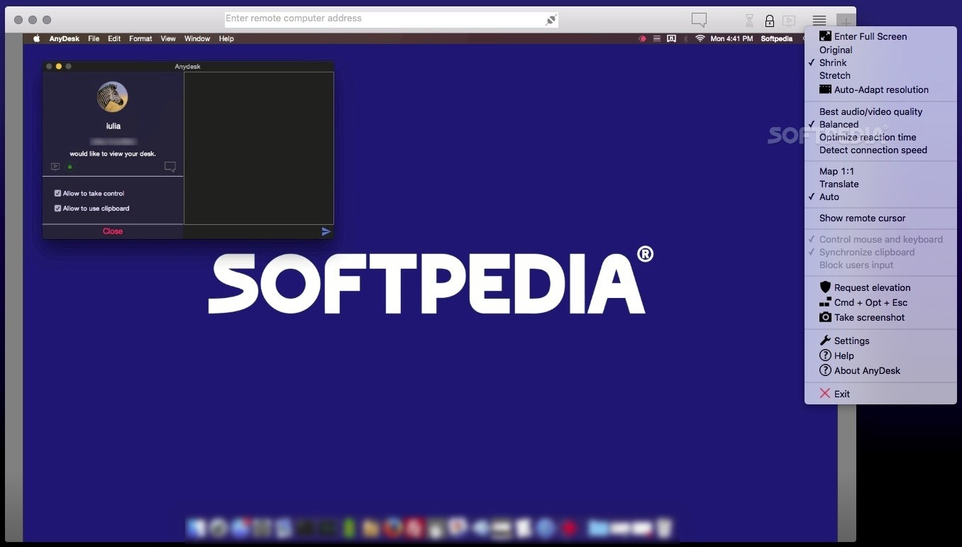 AnyDesk Mac 5 0 1 - Download