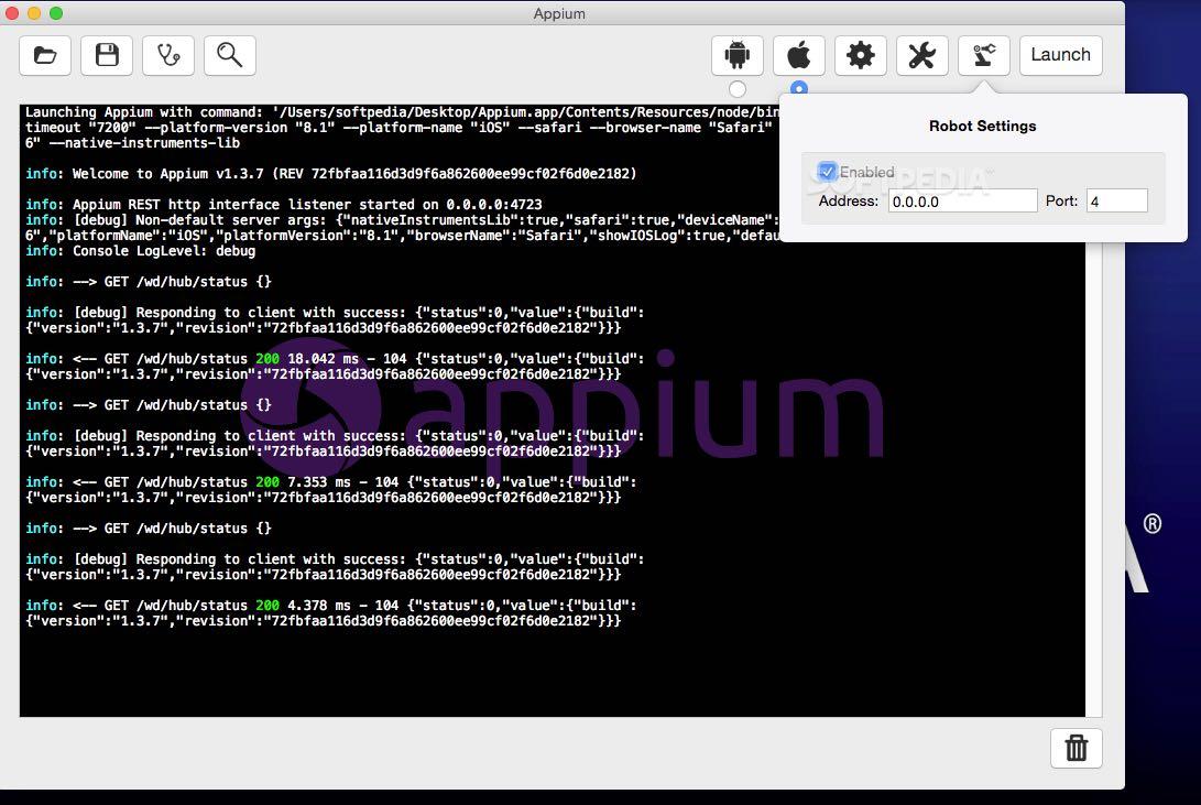 Appium Mac 1 6 2 - Download