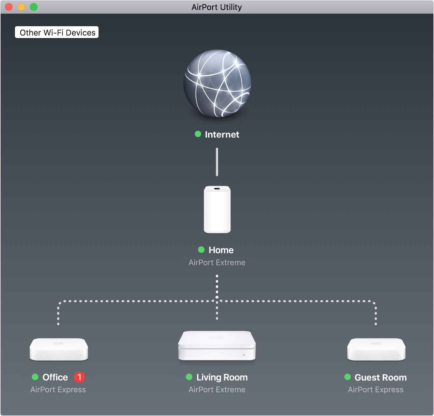 Airport extreme an error occurred while updating the firmware