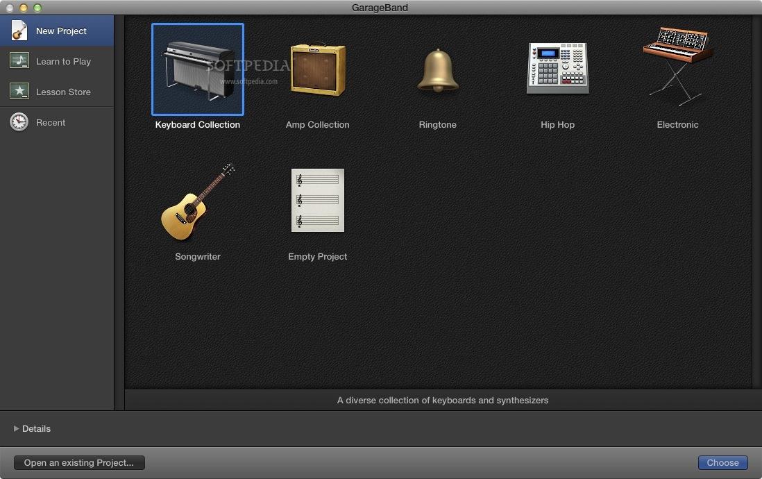 Apple GarageBand Mac 10 3 2 - Download