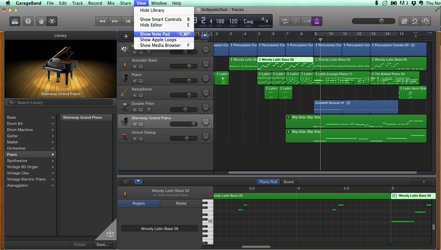 A recording studio on your Mac