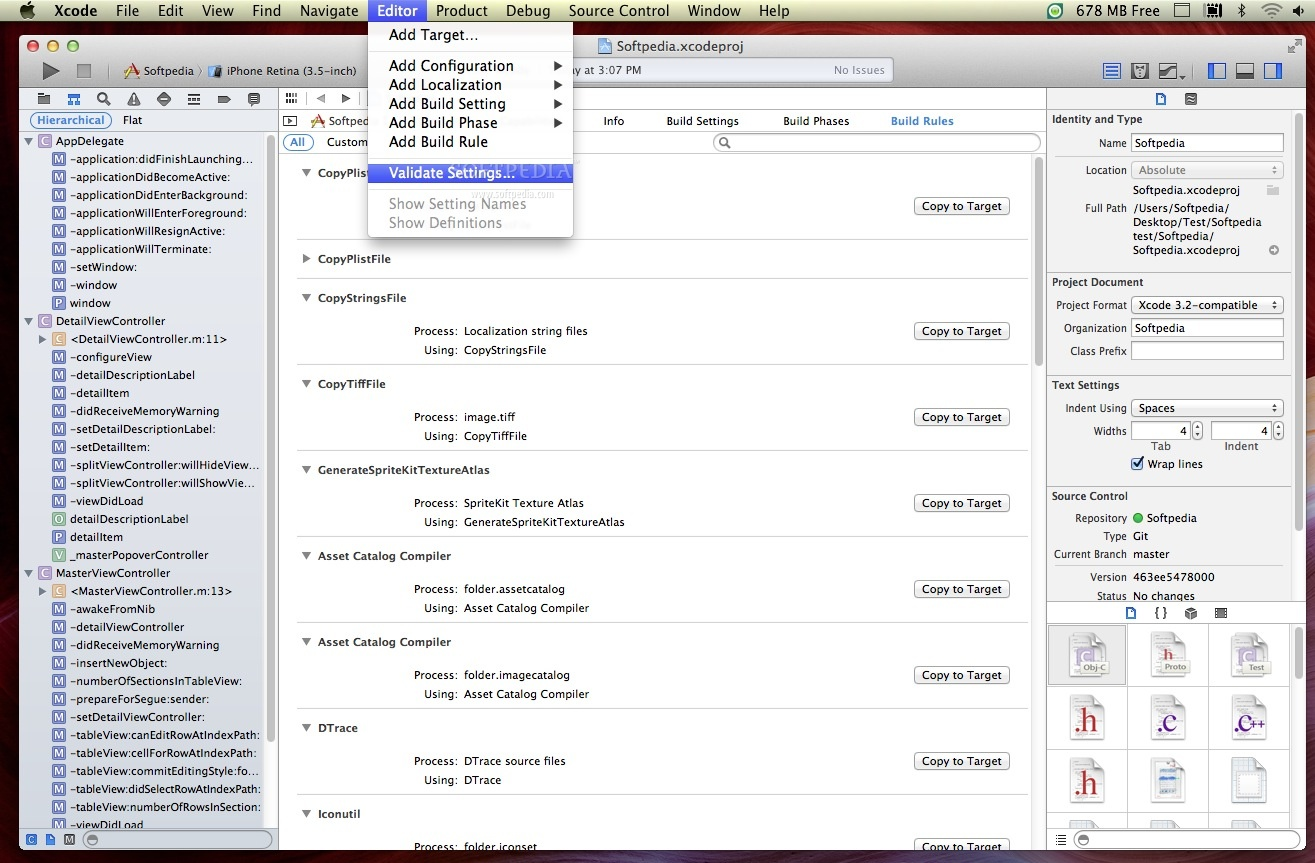 Apple Xcode screenshot 11