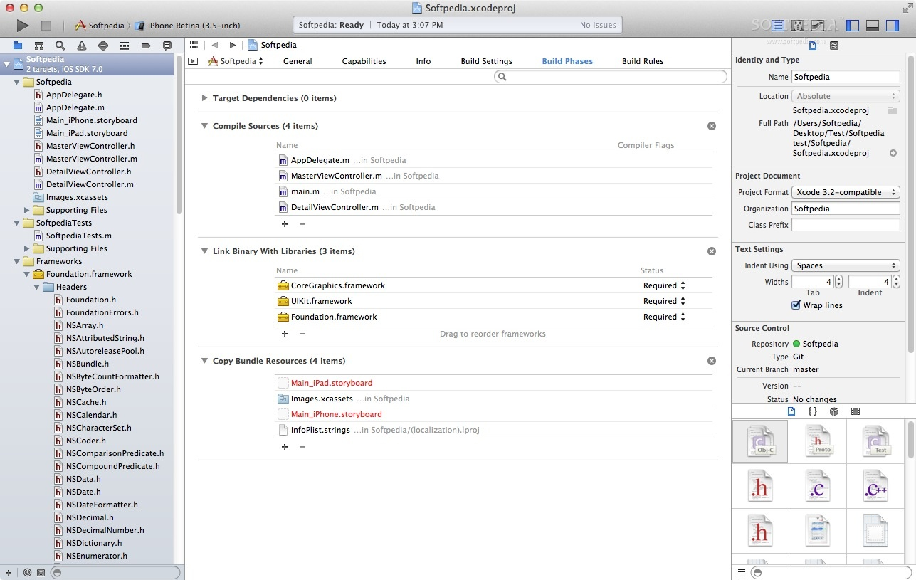 Apple Xcode screenshot 3